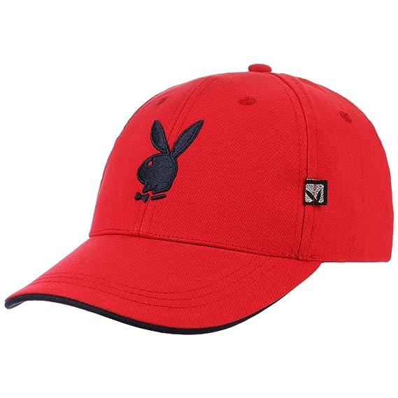 629503173df Classic Bunny Playboy Cap Base (One Size - red)  Amazon.co.uk  Clothing