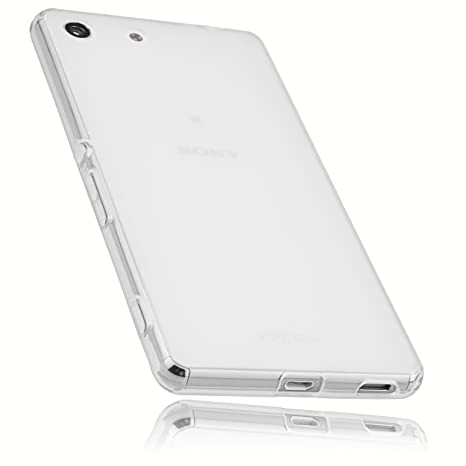 Amazon.com: mumbi 12821 Case Cover For Sony Xperia M5 clear ...