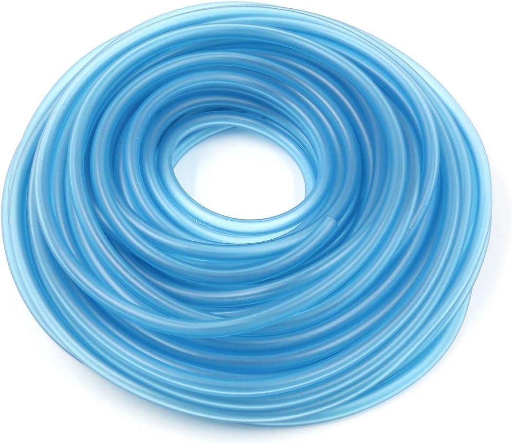 sourcingmap/® 20M Lungo Silicone Blu Benzina Tubo Olio Tubo Carburante tubo per moto