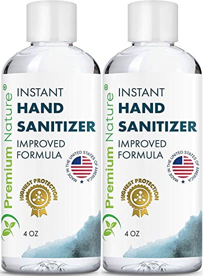 Hand Sanitiser Gel Value Size Instant Advanced Natural Hand