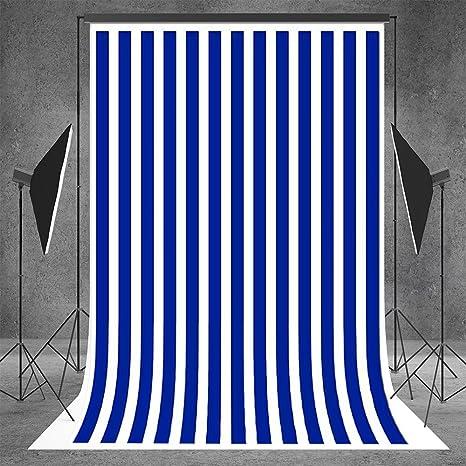 amazon com kate 5x7ft 150cmx220cm blue and white striped