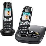 Gigaset C620A Duo Noir Téléphone sans Fil DECT/GAP Répondeur