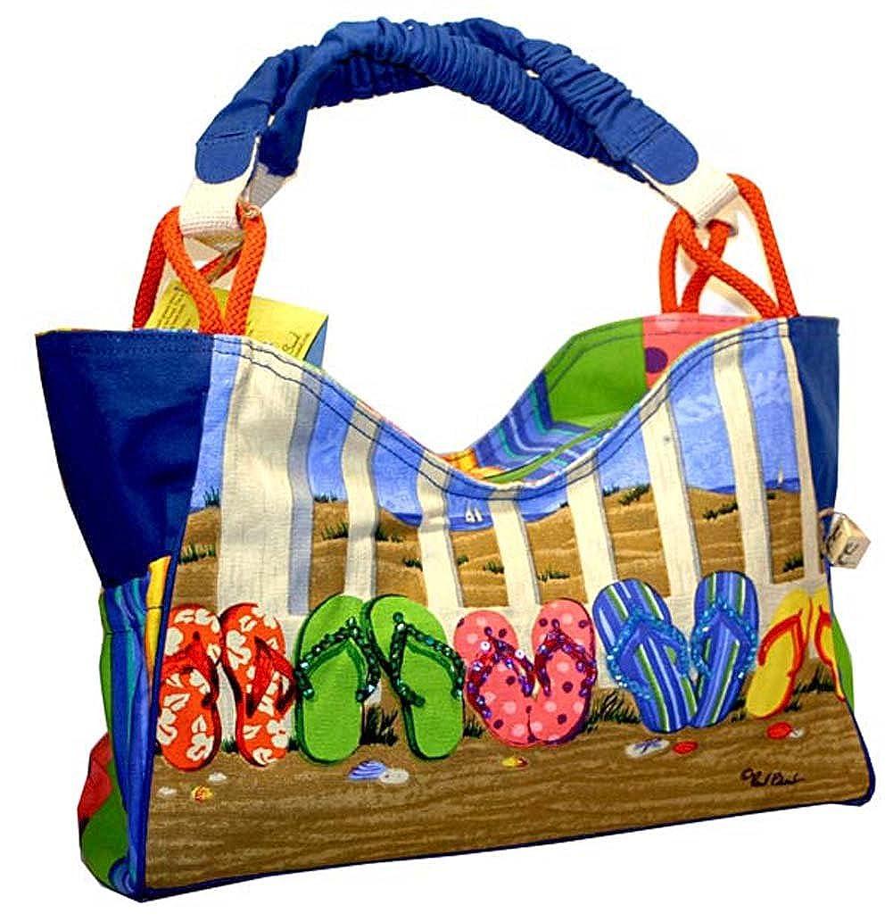 0873dc0ad Flip flop scoop tote beach bag travel totes jpg 1001x1033 Flip flop bags