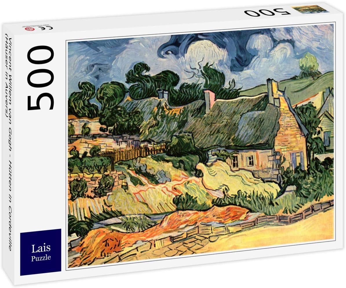 Lais Puzzle Vincent Willem Van Gogh - Cabañas en Cordeville (Casas ...