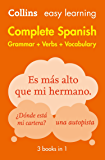 Easy Learning Spanish Complete Grammar, Verbs and Vocabulary (3 books in 1) (Collins Easy Learning) (Spanish Edition)