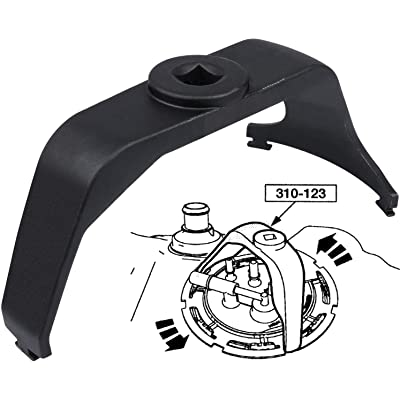 Yoursme 6599 Fuel Tank Lock Ring Wrench Tool for Easy Removal and Installation: Automotive [5Bkhe0800935]