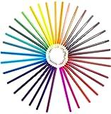 36 Lápices de colores Arte Colorear Calidad Profesional Dibujo Redacción Bosquejo y Diseño de Graffiti Festival de Jardín Secreto Mejor Regalo para Niños Niños Artista Adultos