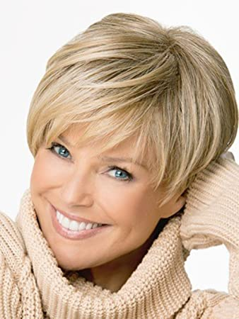 2015 Short Straight Blonde Wig for Women Peluca Peruca Sexy Synthetic Hair Wigs Full Wig with