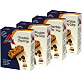 Atkins Chocolate Chip Crisp, Low Carb, High Protein Snack Bar (4 x 5 bars of 30g)