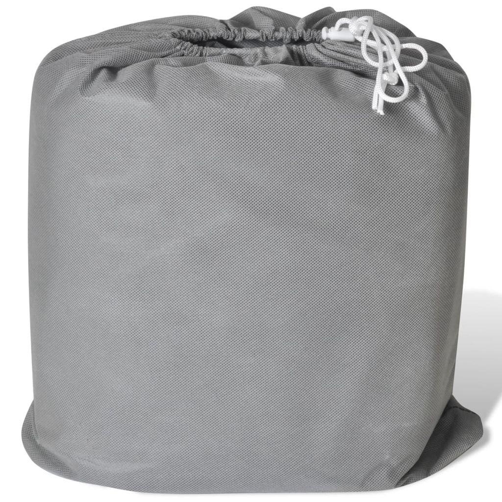 Festnight Funda Cubierta de Coche de Textil No Tejido Bloquear Rayos Ultravioleta Nieve y Polvo,L 48 x178x119cm