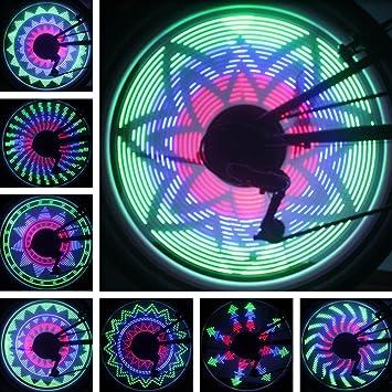 Pesp cdycam 36 Luces LED 32 Cambios de Bicicleta Rueda de ...