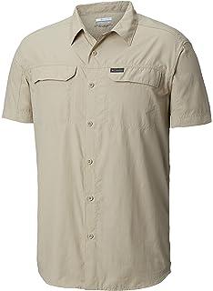 ea2ed5a06f0 Amazon.com   Columbia Men s Silver Ridge Lite Short Sleeve Shirt ...