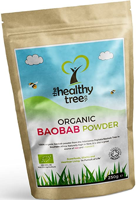 TheHealthyTree Company Baobab Orgánico en Polvo - 250g