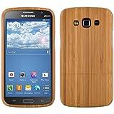 kwmobile Coque en bois véritable pour Samsung Galaxy Grand 2 en bois de bambou marron