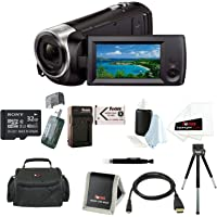 Sony CX405 Full HD 1080p microSDHC/SDXC Camcorder with 30x Optical Zoom & 2.7