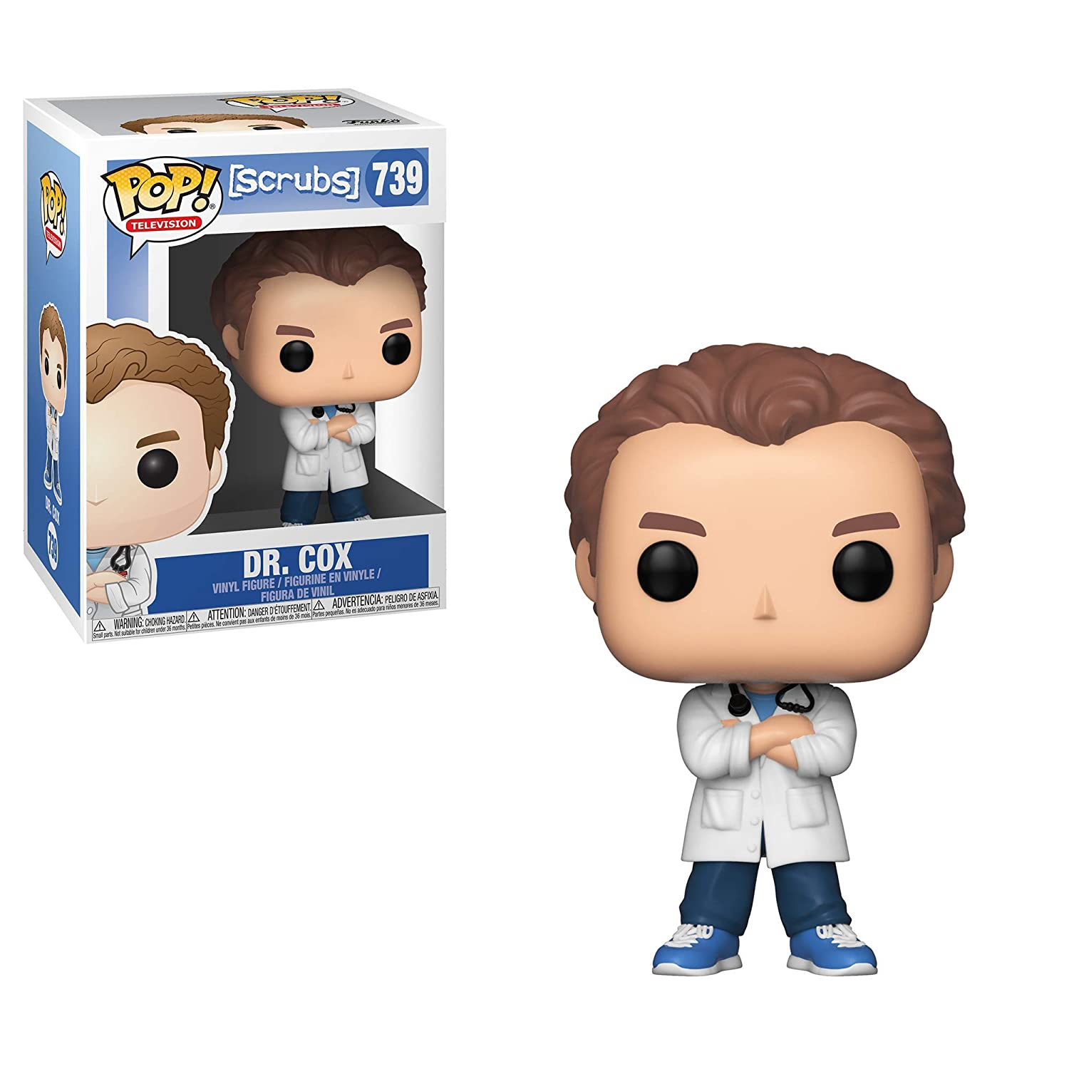DR Cox Scrubs Funko Figurine Pop