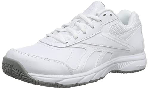 Reebok Work N Cushion 2.0, Zapatillas de Senderismo para Mujer, Blanco (White / Flat Grey), 36 EU: Amazon.es: Zapatos y complementos