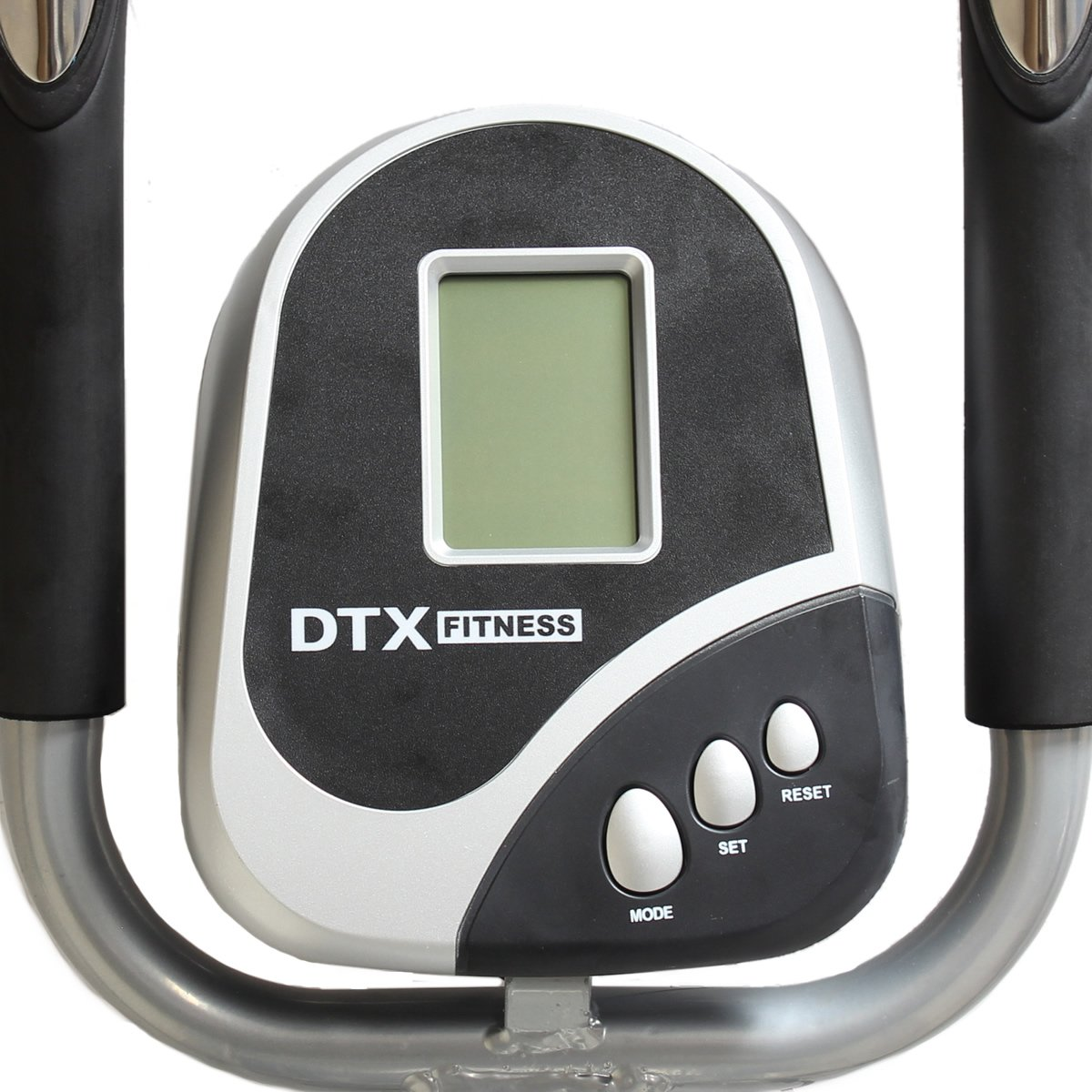 DTX Fitness 2-en-1 elíptica y bicicleta estática con sensores de pulso: Amazon.es: Deportes y aire libre