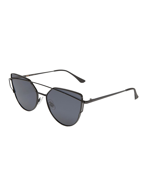MSTRDS Sunglasses July Sonnenbrille, Black, One size