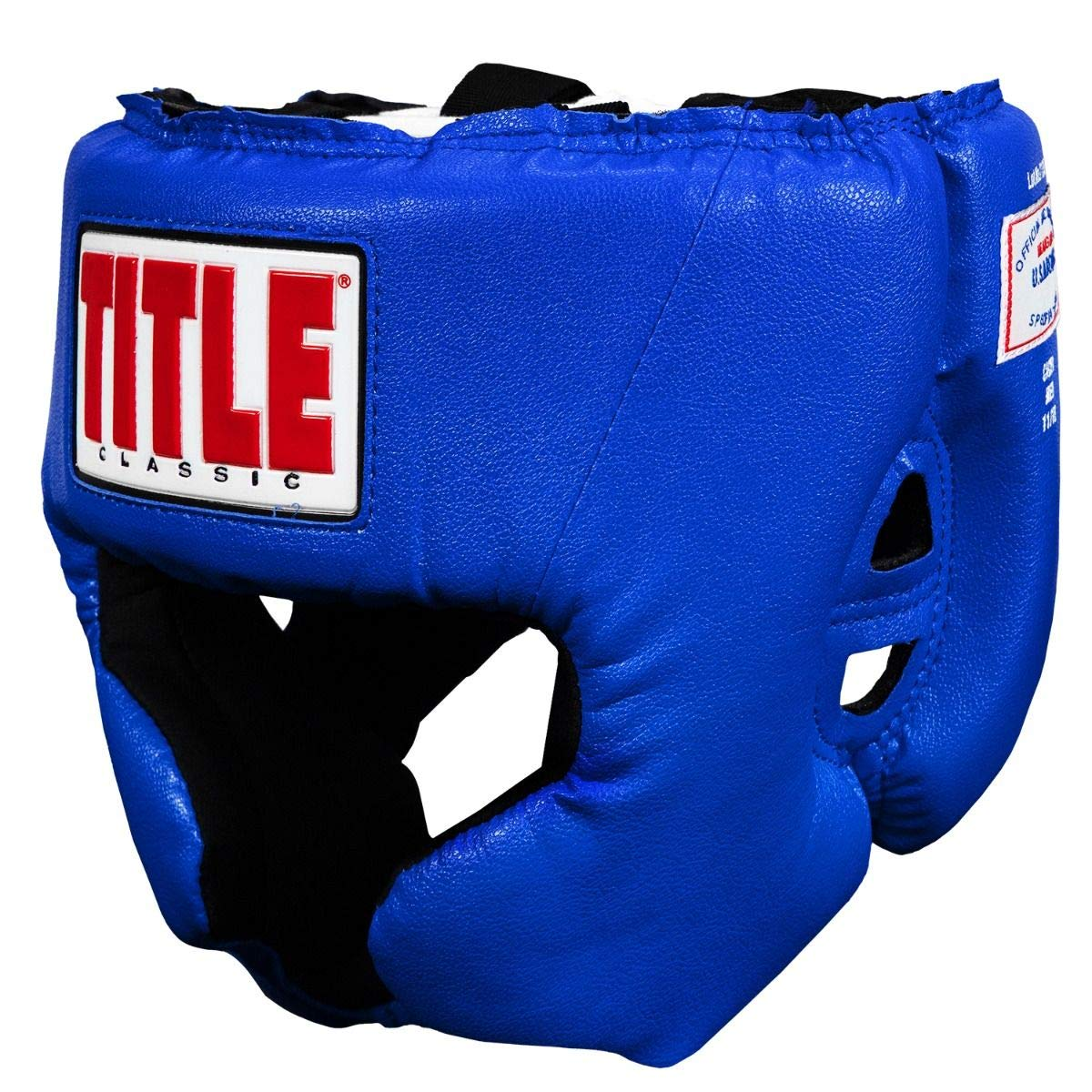 Title Boxing Classic USA Boxing Competition Headgear, Blue, Medium by Title Boxing