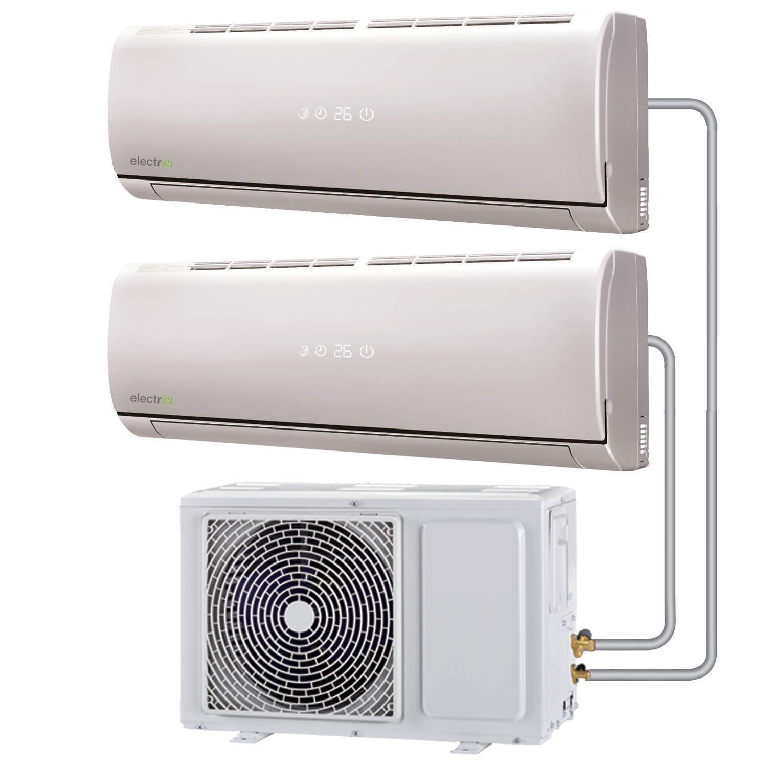 12000 BTU Panasonic Powered Quick Connector Wall Mounted DC ...