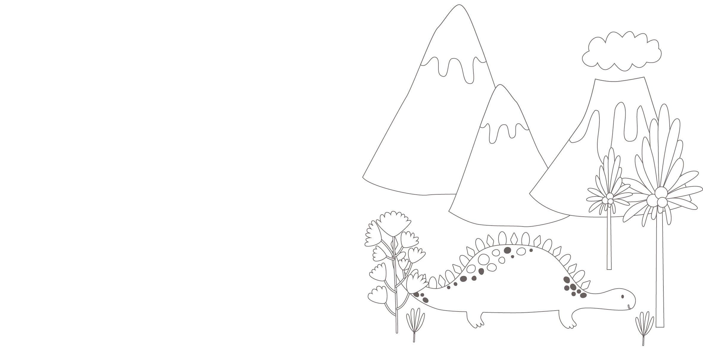 Das dinotastische Malbuch: 32 Motive zum Ausmalen und Dekorieren mit ...