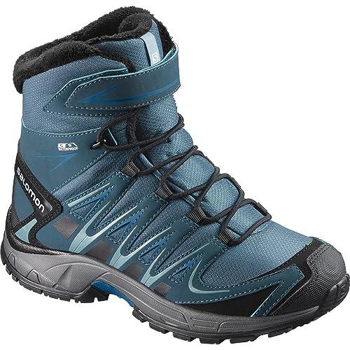 Salomon XA Pro 3D Winter TS CSWP K, Botas de Senderismo para Niños, Negro (Mallard Blue/Reflecting Pond/Mykono), 30 EU: Amazon.es: Zapatos y complementos