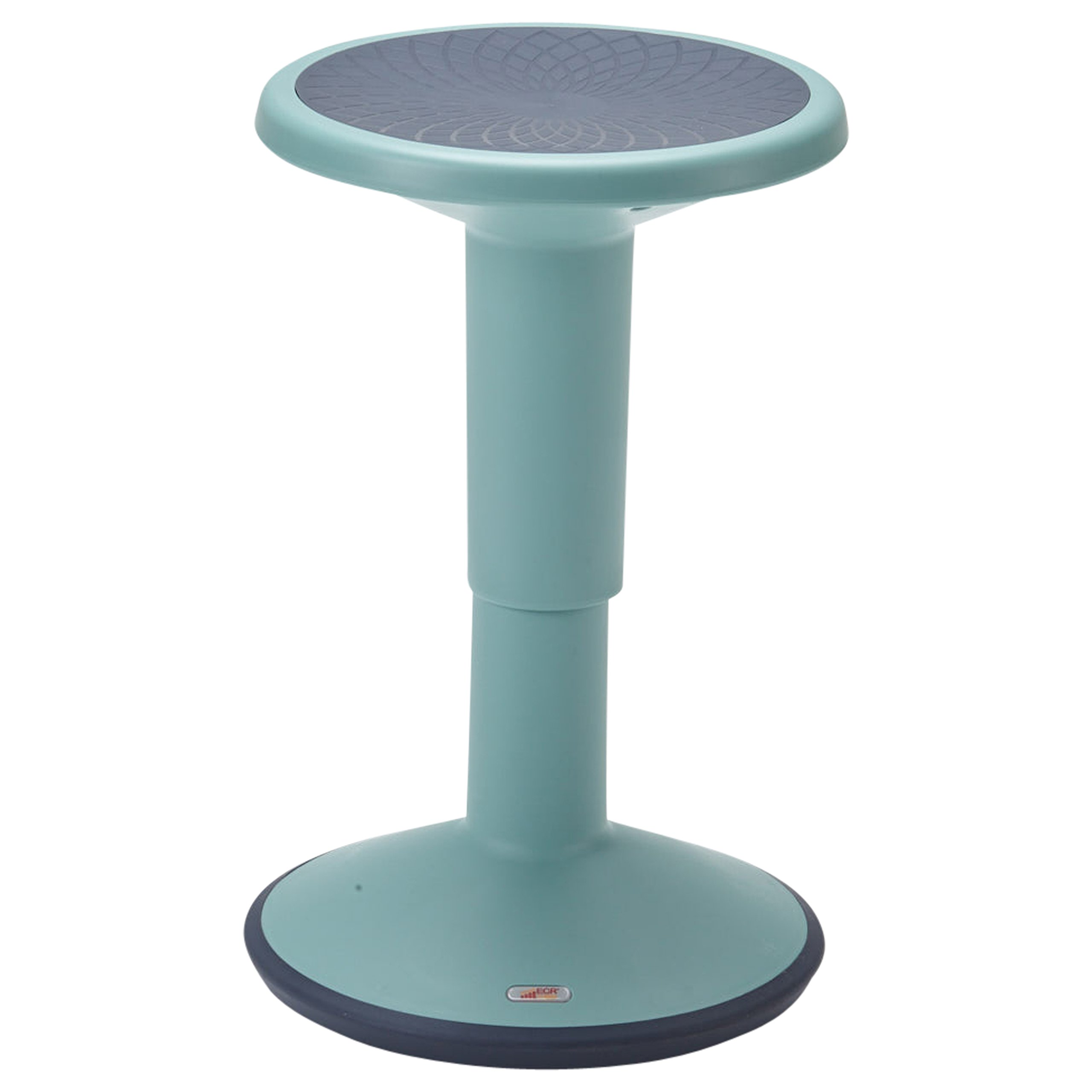 ECR4Kids SitWell Height-Adjustable Wobble Stool - Active Flexible Seating Chair for Kids and Adults - School and Office Sea Foam by ECR4Kids