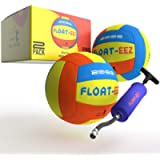 Float-EEZ Pool & Beach Volleyball Pack of 2 - 2020 Edition - Waterproof - Air Pump Included - Great for Pools & Beach…