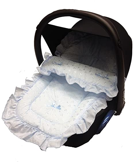 Broderie Anglaise coche asiento saco/Cosy Toes Compatible ...
