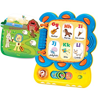 KiddoLab Learning Toys for Toddlers, Chapa The Lion, My First Tablet Interactive Touch and Learn Activity Sound Book. Alphabet and Word Learning Toy for Infants.Educational Toys for 1 Year Old: Toys & Games
