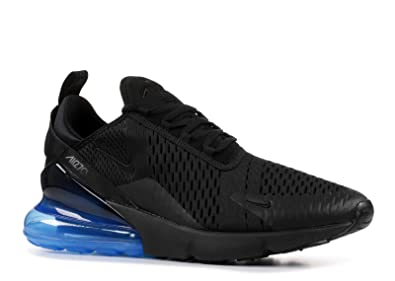 online store d5706 831bc Amazon.com | Nike AIR MAX 270 Black/Black-Photo Blue Size ...