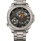 BOSS ORANGE Montre avec bracelet Sao Paulo Dual Time analogique quartz Acier inoxydable 1513211