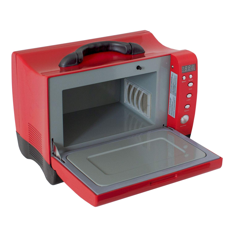 Mini Microondas Portátil 7L 27,5x38x24,5cm 24V 300 / 600W Rojo ...