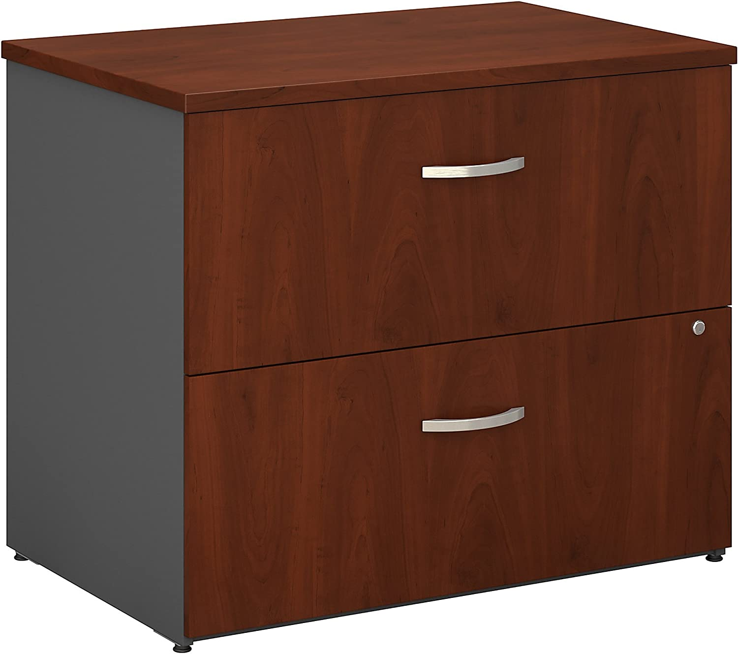 Bush Business Furniture Series C Collection 36W 2Dwr Lateral File in Hansen Cherry