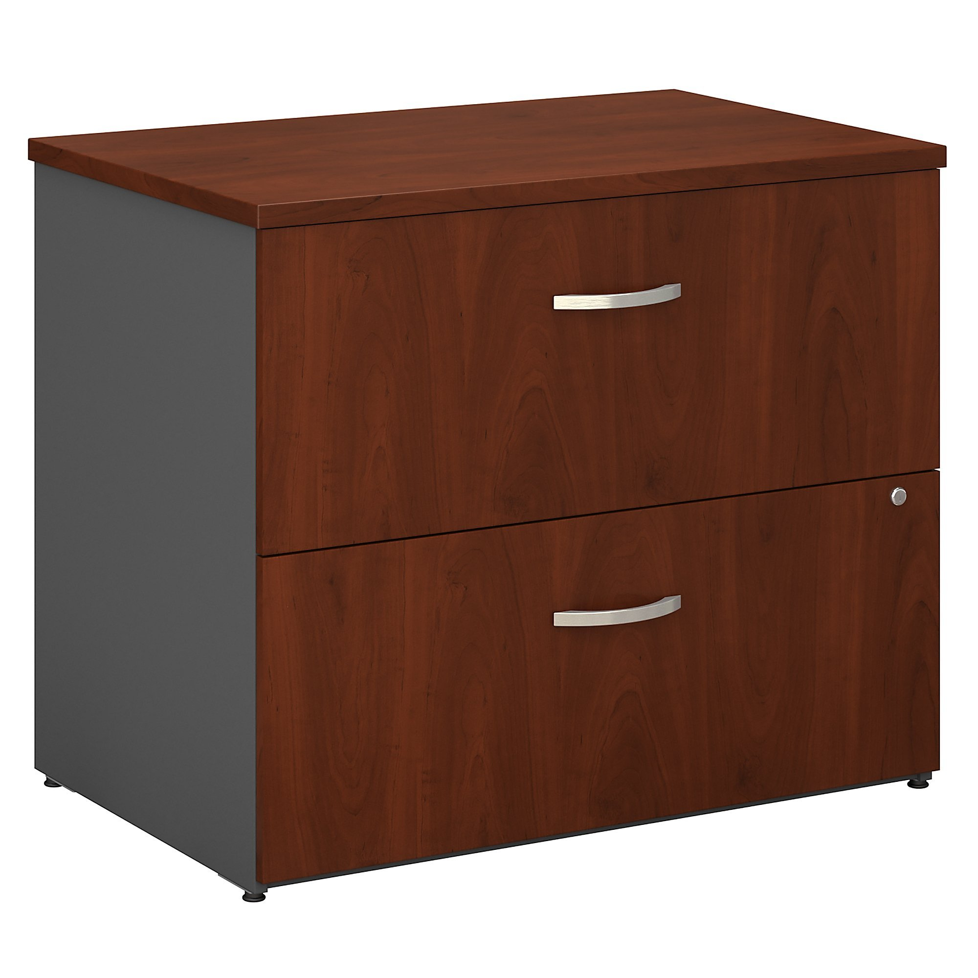 Bush Business Furniture Series C Collection 36W 2Dwr Lateral File in Hansen Cherry by Bush Business Furniture