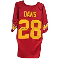 $147 » Anthony (USC) Davis Autographed Jersey - Red - Autographed College Jerseys