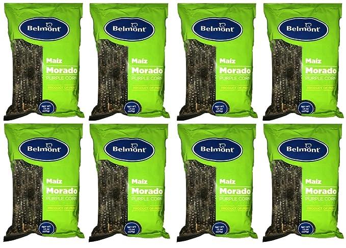 Amazon.com : Maiz Morado Belmont 8 bolsas : Grocery ...