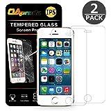 OAproda iPhoneSE/5/5s 日本旭硝子0.2mm 強化ガラスフィルム 4インチ 9H 2枚セット