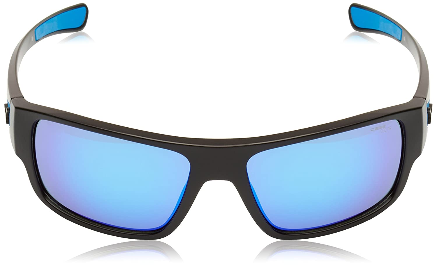 Cebe Whisper Sunglasses (1500 Grey Ar Blue Fm Lens Matt Black Blue Frame) YglruPN2