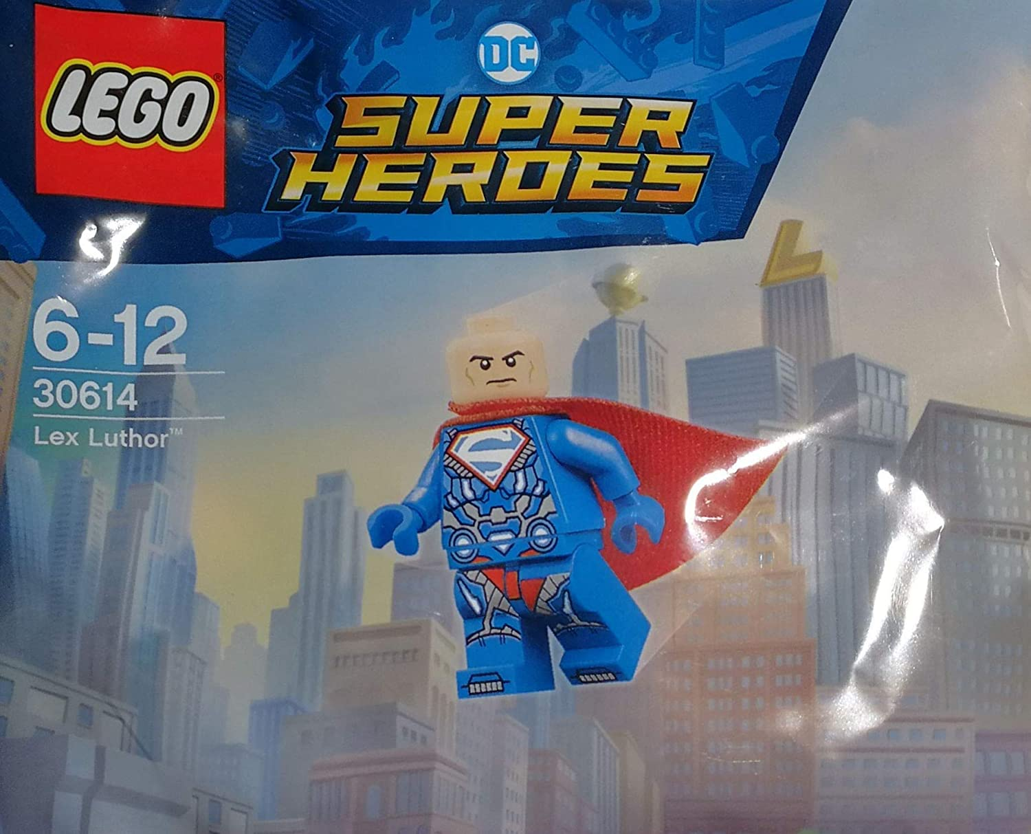 LEGO DC Super Heroes Lex Luther 30614 Building Toys, Minifigure, Superman NEW