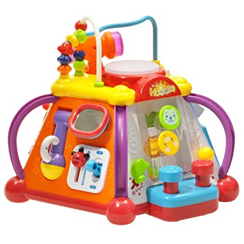 80192c2c63e3 Early Education 18 Months Olds Baby Toy Happy Small World with Music ...