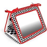 Black, White & Red, Smile, Baby 2-in-1 Crib & Floor Mirror