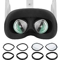 Vakdon Ochraniacze obiektywu do obiektywu Oculus Quest 2 VR zestaw słuchawkowy soczewki kompatybilne z Oculus Quest 2…
