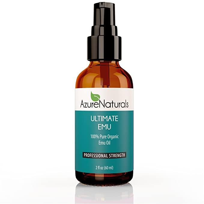 100% Pure ULTIMATE EMU Oil, AEA certified, Highest Quality Available, Deep Penetrating, Anti-Aging Natural Oil for Face, Skin, Nails, Minimizes Stretch Marks, Scars, Alleviates Muscle, Joint Pain!