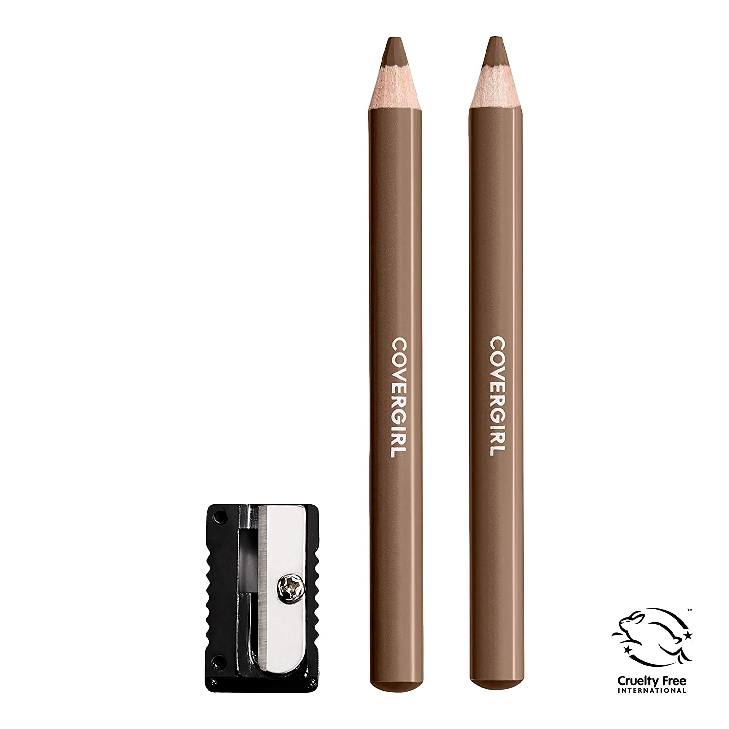 COVERGIRL BROW & EYE MAKERS BROW SHAPER & EYELINER #510 SOFT BROWN B0016MQW3A