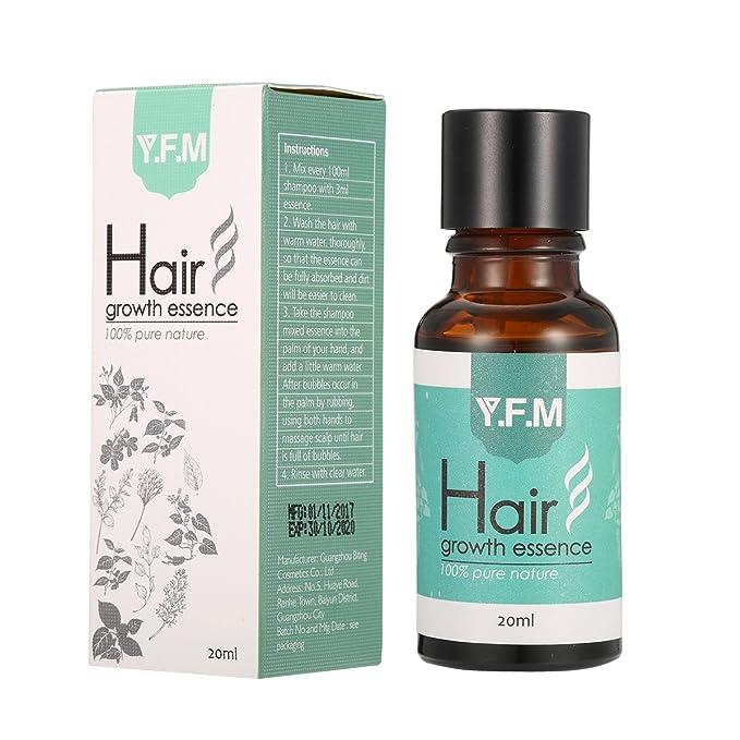 Aceite para Crecimiento del Cabello, Pelo Crecimiento Esencia, Hair Growth Essence 100% Pure Nature, Estimula Cabello, Pérdida de Pelo Tratamiento para los ...
