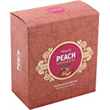 100% Natural Organic Herbal Extracts Black Tea Leaves In 100 Grams Pack By Mittal Teas (Peach Flavoured)