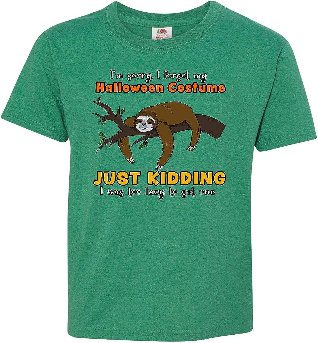 inktastic Im Sorry I Forgot My Halloween Costume Baby T-Shirt
