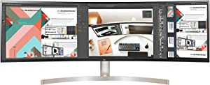 LG 49WL95C-W 49-Inch Curved 32: 9 Ultrawide Dqhd IPS with HDR10 and USB Type-C